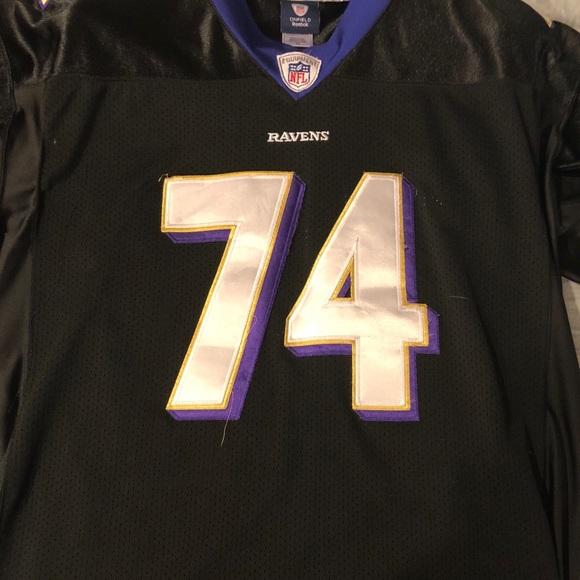 6c2d3e3eb340 Michael Oher Baltimore Ravens Jersey. M 5aa0be632c705d9c9590c870